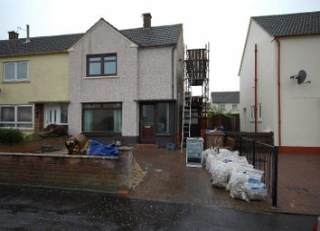 Thumbnail 2 bed semi-detached house to rent in Carnell Terrace, Prestwick, South Ayrshire