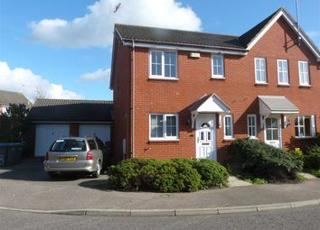 Thumbnail 3 bed end terrace house to rent in Brights Walk, Kesgrave, Ipswich