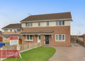 Thumbnail 3 bed semi-detached house for sale in Monet Close, Connahs Quay, Deeside, Flintshire
