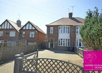 Thumbnail 3 bed semi-detached house for sale in London Road, Raunds, Northamptonshire