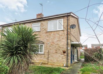Thumbnail 2 bed semi-detached house for sale in Mere View, Yaxley, Peterborough