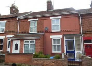 Thumbnail 3 bed terraced house to rent in Vicarage Road, Norwich