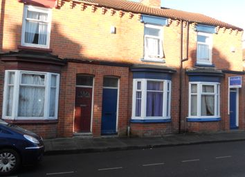 Thumbnail 3 bed terraced house to rent in Haddon Street, Middlesbrough