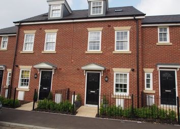 Thumbnail 3 bed town house for sale in Old Oak Close, Wymondham