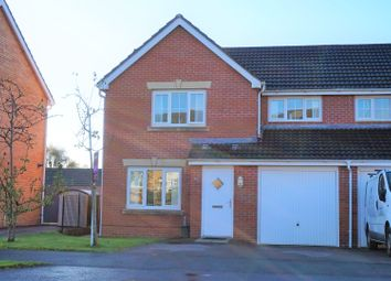 Thumbnail 3 bed semi-detached house for sale in Crymlyn Parc, Skewen