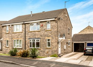 Thumbnail 3 bedroom semi-detached house for sale in Norwood Crescent, Stanningley, Pudsey