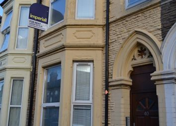 Thumbnail 1 bedroom flat to rent in 40, Monthermer Road, Roath, Cardiff, South Wales