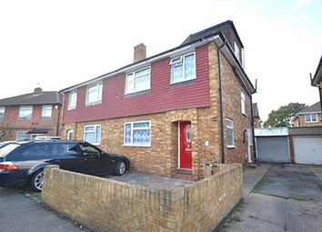 Thumbnail 4 bed semi-detached house for sale in The Garden, Bedfont