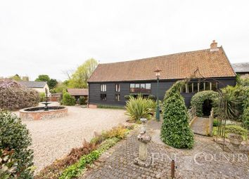 Thumbnail 4 bedroom barn conversion for sale in Low Road, Scole, Diss