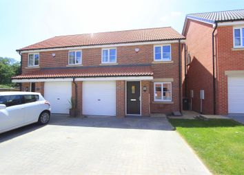 Thumbnail 3 bed semi-detached house for sale in Greener Drive, Darlington