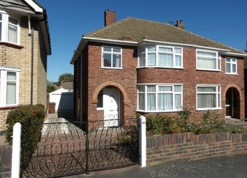Thumbnail 3 bed semi-detached house for sale in Ryegate Crescent, Birstall, Leicester, Leicestershire
