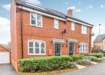 Thumbnail 3 bed semi-detached house for sale in Harrington Road, Irthlingborough, Wellingborough