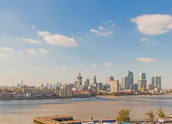 Thumbnail 3 bed flat for sale in Loop House, Enderby Wharf, London