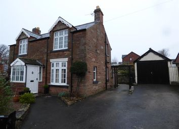 Thumbnail 4 bed detached house for sale in Station Road, Cumwhinton, Carlisle