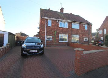 Thumbnail 3 bed semi-detached house for sale in Witton Crescent, Darlington