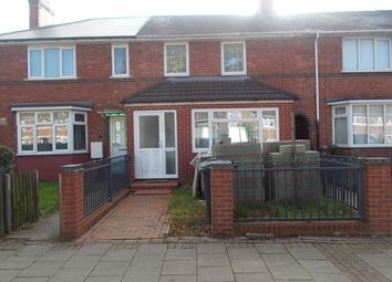 Thumbnail 3 bed terraced house for sale in Graham Road, South Yardley