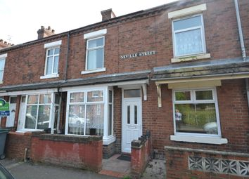 Thumbnail 2 bed terraced house to rent in Neville Street, Stoke-On-Trent