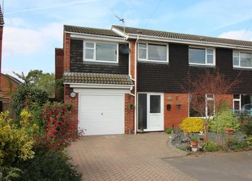 Thumbnail 4 bedroom semi-detached house for sale in Laburnum Close, Horsford, Norwich