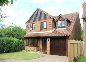 Thumbnail 4 bed detached house for sale in Holmes Close, Hatch Warren, Basingstoke