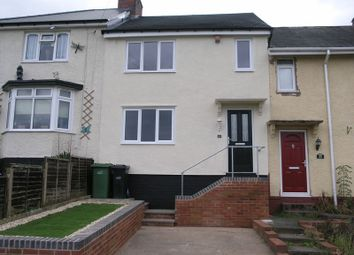 Thumbnail 3 bedroom terraced house for sale in Highfield Crescent, Halesowen