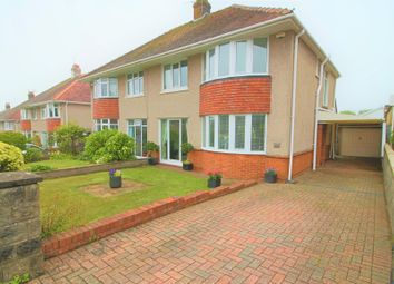 Thumbnail 3 bedroom semi-detached house for sale in Mayals Avenue, Blackpill, Swansea