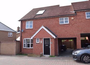 Thumbnail 4 bed property to rent in Einstein Crescent, Duston, Northampton