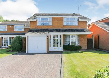 Thumbnail 4 bed detached house for sale in Arrow Close, Knowle, Solihull