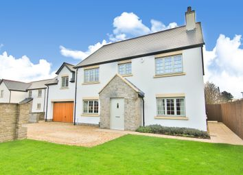 Thumbnail 4 bed detached house for sale in Groes Fawr Close, Marshfield, Cardiff