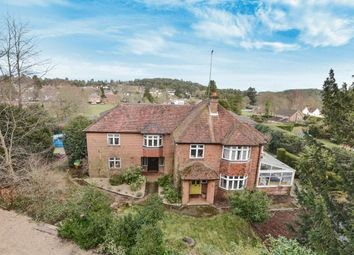 Thumbnail 5 bed detached house for sale in Frensham Road, Lower Bourne, Farnham, Surrey