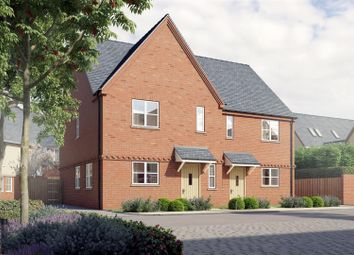 Thumbnail 3 bed semi-detached house for sale in The Bullfinch, Hayford Meadows, Hankelow