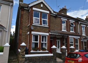 Thumbnail 3 bedroom end terrace house for sale in St Patricks Road, Ramsgate, Kent