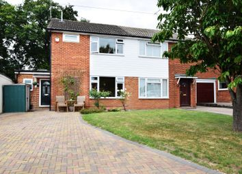 Thumbnail 3 bedroom semi-detached house for sale in Green End Close, Spencers Wood, Reading