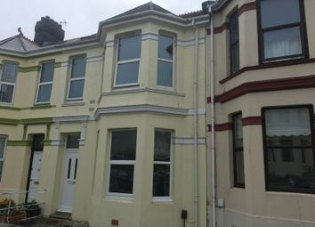 Thumbnail 4 bed end terrace house to rent in Neath Road, Plymouth