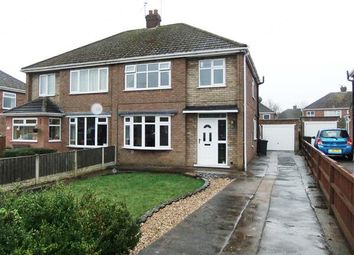 Thumbnail 3 bed semi-detached house to rent in Downing Crescent, Bottesford, Scunthorpe