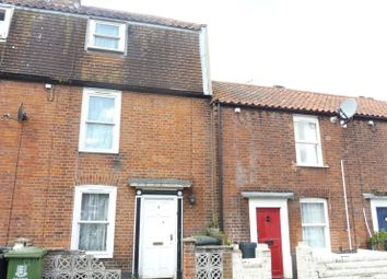 Thumbnail 2 bedroom terraced house for sale in Swirles Place, Great Yarmouth, Norfolk
