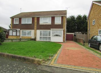 Thumbnail 3 bed semi-detached house for sale in Clacton-On-Sea, Essex