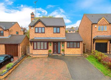 Thumbnail 4 bed detached house for sale in Vickers Close, Rothwell