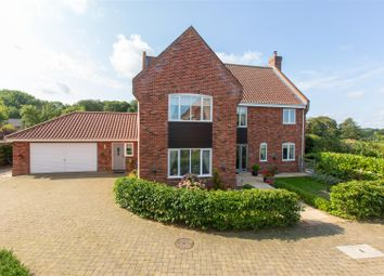 Thumbnail 5 bed detached house for sale in Chestnut Close, Swardeston, Norwich