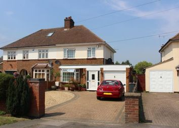 Thumbnail 3 bed semi-detached house to rent in Ridge Road, Kempston, Bedford