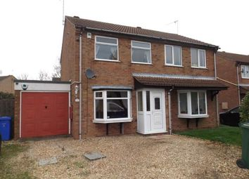 Thumbnail 2 bed semi-detached house for sale in Larkspur Croft, Boston, Lincolnshire