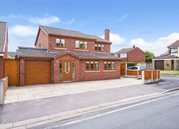 Thumbnail 4 bed detached house for sale in Greenwood Close, Aughton, Ormskirk