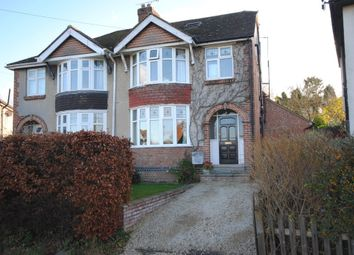 Thumbnail 4 bed semi-detached house for sale in St. Pauls Crescent, Botley, Oxford