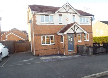 Thumbnail 3 bedroom semi-detached house to rent in Fairfax Avenue, Gateford, Worksop