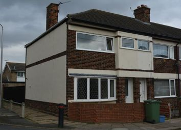 Thumbnail 2 bed end terrace house to rent in Lister Street, Grimsby