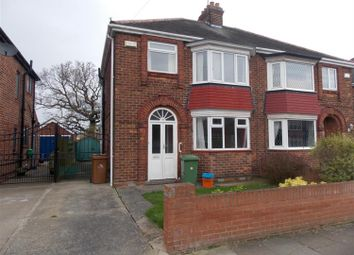 Thumbnail 3 bed semi-detached house for sale in Gloucester Avenue, Grimsby