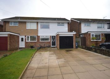 Thumbnail 3 bed semi-detached house for sale in Minton Way, Widnes