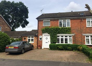 Thumbnail 3 bed semi-detached house to rent in Riverside Avenue, Lightwater