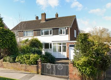 Thumbnail 3 bed semi-detached house for sale in Hermitage Road, Upper Norwood