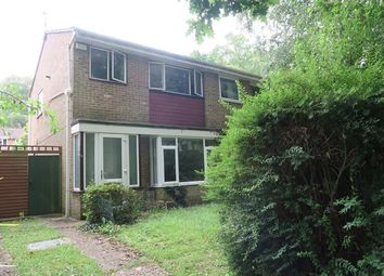 Thumbnail 3 bed end terrace house for sale in Oakwood Drive, Lordswood, Southampton