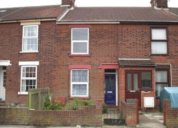 Thumbnail 3 bed terraced house to rent in St. Peters Street, Lowestoft
